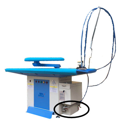 Vacuum ironing table inbuilt with steam generator YL-128A   YL-128B