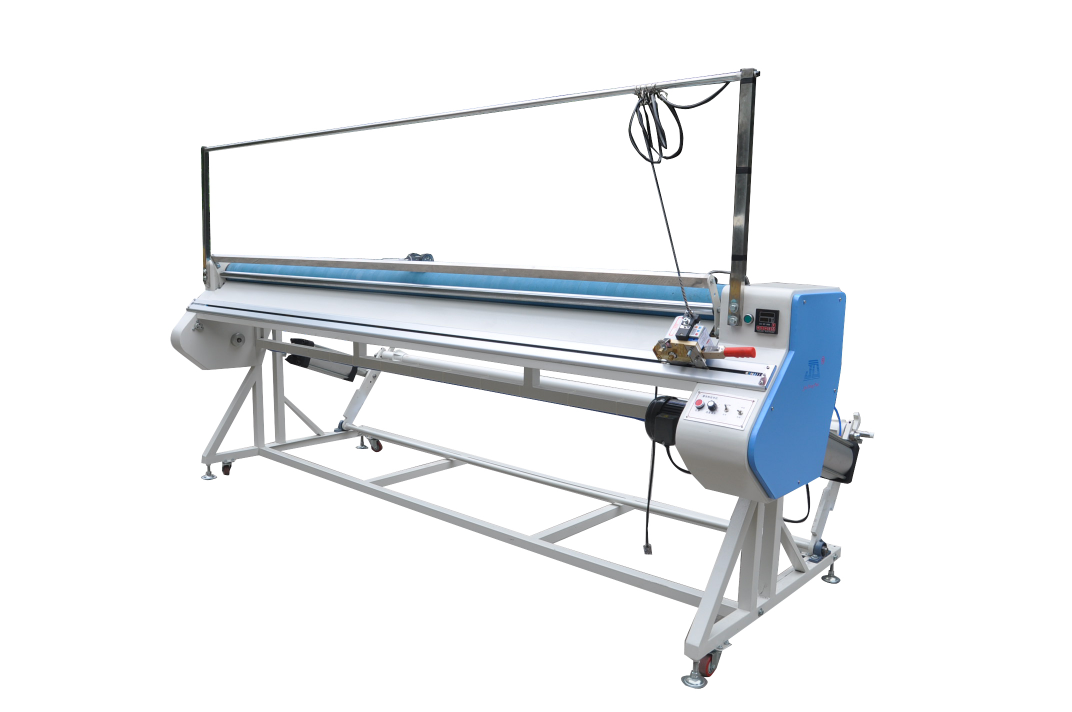 Big roll diameter Heavy Fabric relaxing Machine(With length cutter) YL-1800E-LC2