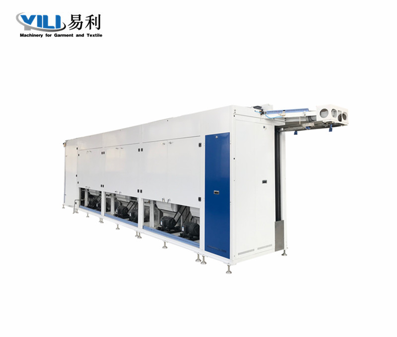 Automatic Tunnel Ironing And Drying Machine